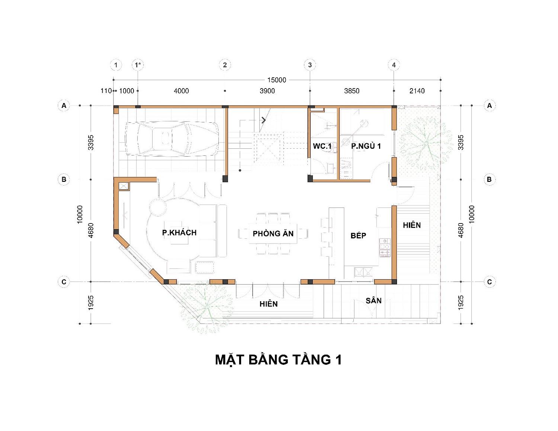 Tầng 1 Lô góc Shophouse thương mại 142m2 An lạc Green Symphony